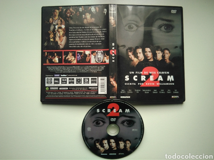 Cine: Scream 2 - Wes Craven - David Arquette - Neve Campbell - Courteney Cox - Foto 2 - 170165970
