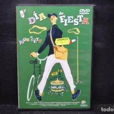 Cine: DÍA DE FIESTA - DVD. Lote 170166920