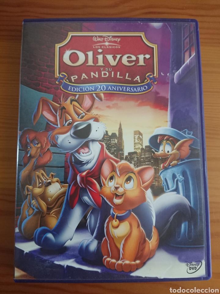 OLIVER Y SU PANDILLA, EDICIÓN 20 ANIVERSARIO DVD CLÁSICO DISNEY N° 27 (Cine - Películas - DVD)