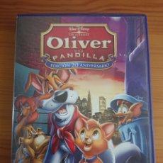 Cine: OLIVER Y SU PANDILLA, EDICIÓN 20 ANIVERSARIO DVD CLÁSICO DISNEY N° 27. Lote 170189153