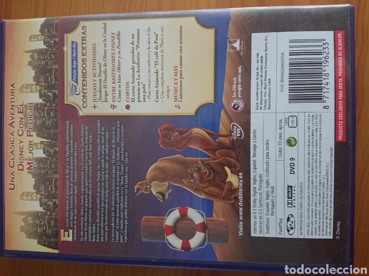 Cine: Oliver y su Pandilla, Edición 20 Aniversario DVD Clásico Disney n° 27 - Foto 2 - 170189153