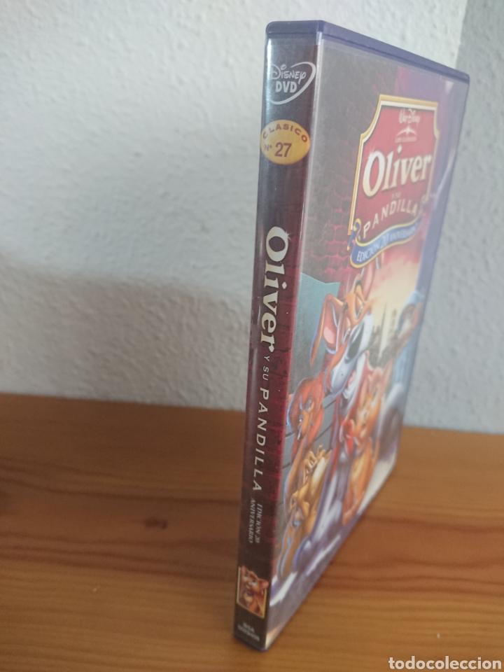 Cine: Oliver y su Pandilla, Edición 20 Aniversario DVD Clásico Disney n° 27 - Foto 3 - 170189153