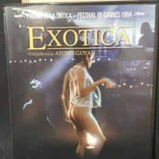Cine: EXOTICA - DVD - MUY RARO - DESCATALOGADA - MIA KIRSHNER - ELIAS KOTEAS - SARAH POLLEY. Lote 170196300