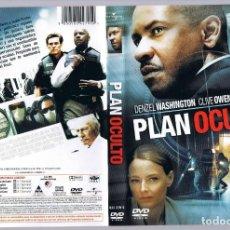 Cine: PELÍCULA DVD PLAN OCULTO DENZEL WASHINGTON. Lote 170250904