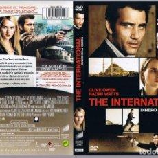 Cine: PELÍCULA DVD THE INTERNATIONAL DINERO EN LA SOMBRA NAOMI WATTS. Lote 170251664