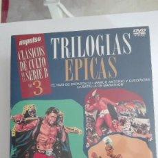 Cine: CLASICOS DE CULTO SERIE B TRILOGIAS EPICAS VOL.3 DVD NUEVO PRECINTADO MÁS A LA VENTA. Lote 170269356