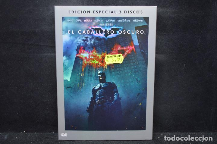 BATMAN EL CABALLERO OSCURO - EDICIÓN ESPECIAL 2 DISCOS - DVD (Cine - Películas - DVD)