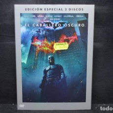 Cine: BATMAN EL CABALLERO OSCURO - EDICIÓN ESPECIAL 2 DISCOS - DVD. Lote 170271352