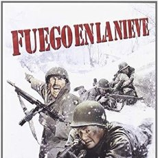 Cine: FUEGO EN LA NIEVE - DVD NUEVO Y PRECINTADO. Lote 186393061