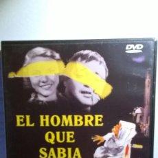 Cine: EL HOMBRE QUE SABIA DEMASIADO ALFRED HITCHCOCK DVD. Lote 170316916