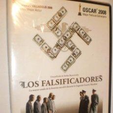 Cine: DVD LOS FALSIFICADORES. DE STEFAN RUZOWITZKY 95 + 14 MIN .CAJA FINA (PRECINTADO). Lote 170364060