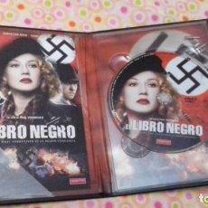 Cine: CINE DVD PELICULA EL LIBRO NEGRO II GUERRA MUNDIAL. Lote 170448308