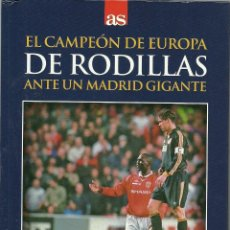 Cine: LIBRO DE 61 PAGINAS + DVD - MANCHESTER UNITED, 2 - REAL MADRID, 3. Lote 170450652