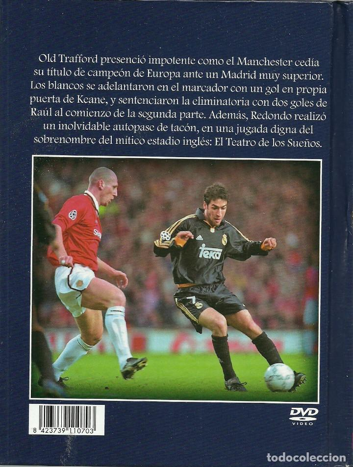 Cine: LIBRO DE 61 PAGINAS + DVD - MANCHESTER UNITED, 2 - REAL MADRID, 3 - Foto 2 - 170450652