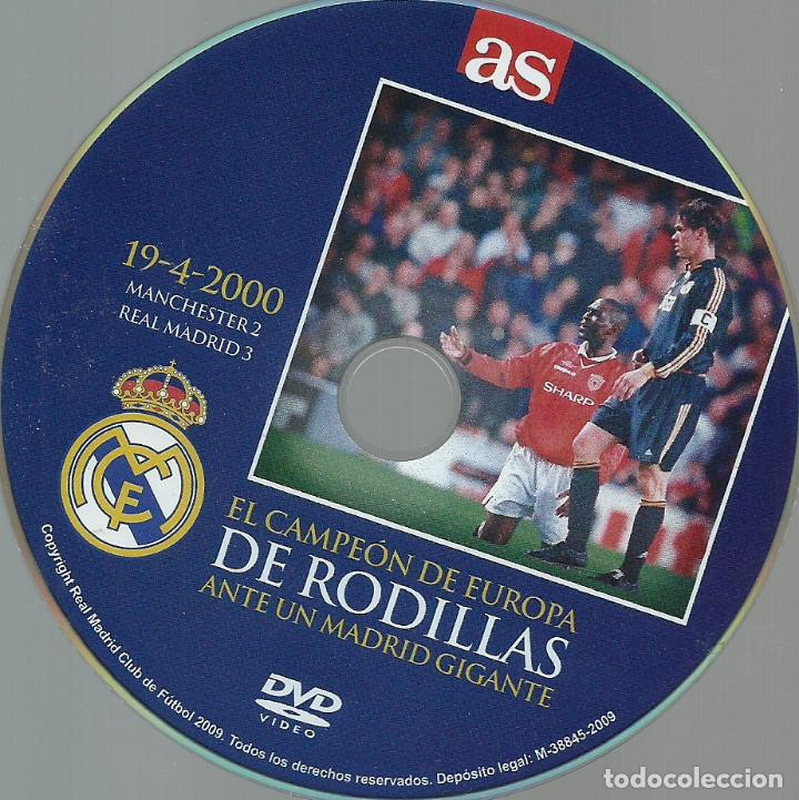 Cine: LIBRO DE 61 PAGINAS + DVD - MANCHESTER UNITED, 2 - REAL MADRID, 3 - Foto 9 - 170450652
