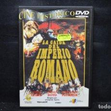 Cine: LA CAIDA DEL IMPERIO ROMANO - DVD. Lote 170486460