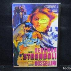 Cine: STROMBOLI - DVD. Lote 170500692