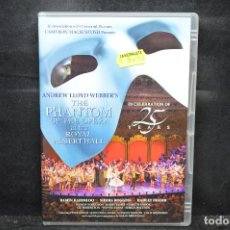 Cine: THE PHANTOM OF THE OPERA - DVD. Lote 170536036