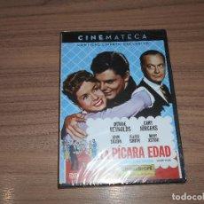Cine: LA PICARA EDAD EDICION ESPECIAL DVD + LIBRO DEBBIE REYNOLDS NUEVA PRECINTADA. Lote 222643928