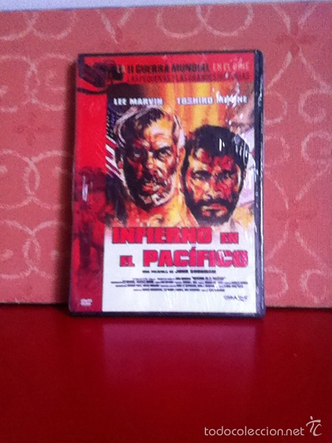 DVD. INFIERNO EN EL PACÍFICO. NUEVA Y PRECINTADA (Cine - Películas - DVD)