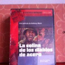 Cine: DVD. LA COLINA DE LOS DIABLOS DE ACERO. NUEVA Y PRECINTADA. Lote 170540762