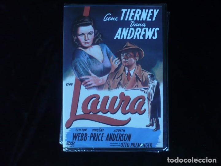LAURA CON GENE TIERNEY Y DANA ANDREWS - DVD NUEVO PRECINTADO (Cine - Películas - DVD)