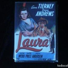 Cine: LAURA CON GENE TIERNEY Y DANA ANDREWS - DVD NUEVO PRECINTADO. Lote 182580953