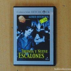 Cine: ALFRED HITCHCOCK - TREINTA Y NUEVE ESCALONES - DVD. Lote 170639617