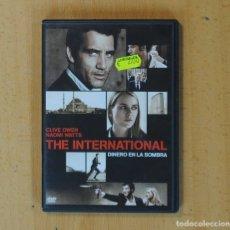 Cine: THE INTERNATIONAL DINERO EN LA SOMBRA - DVD. Lote 170657859