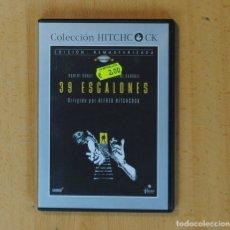 Cine: ALFRED HITCHCOCK - 39 ESCALONES - DVD. Lote 170662079
