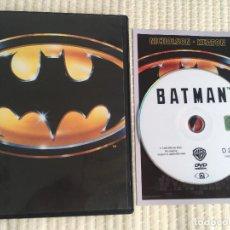 Cine: BATMAN 1 NICHOLSON KEATON 1989 DVD KREATEN. Lote 171042469