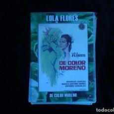 Cine: LOLA FLORES DE COLOR MORENO - DVD NUEVO PRECINTADO. Lote 171053909