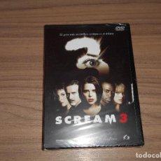 Cine: SCREAM 3 EDICION ESPECIAL DVD + MULTITUD DE EXTRAS WES CRAVEN NUEVA PRECINTADA. Lote 171060943