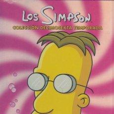 Cine: LOS SIMPSON - DECIMOSEXTA TEMPORADA 16 COMPLETA - PACK DVD NUEVO Y PRECINTADO - REGION 2. Lote 171086359