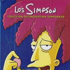 Cine: LOS SIMPSON - DECIMOSEPTIMA TEMPORADA 17 COMPLETA - PACK DVD NUEVO Y PRECINTADO - REGION 2. Lote 171086392