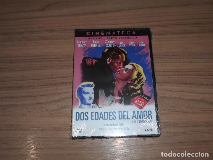 DOS EDADES DEL AMOR EDICION ESPECIAL DVD + LIBRO SPENCER TRACY LANA TURNER NUEVA PRECINTADA (Cine - Películas - DVD)