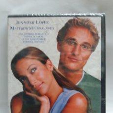 Cine: PELICULA DVD PLANES DE BODA, JENNIFER LOPEZ Y MATTHEW MCCONAUGHEY. Lote 171092984