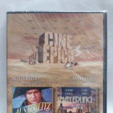 Cine: CINE EPICO DOS PELICULAS, AUSTERLITZ - MAYERLING. Lote 171096812