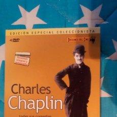 Cine: CHARLES CHAPLIN: TODAS SUS COMEDIAS ESSANAY Y MUTUAL. Lote 171098204