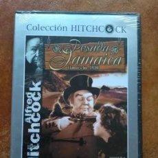 Cine: LA POSADA DE JAMAICA (DVD) COLECCION ALFRED HITCHCOCK. PRECINTADA. Lote 171110668