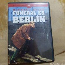 Cine: (S175) FUNERAL EN BERLÍN - DVD SEGUNDAMANO IMPOLUTA. Lote 171147993