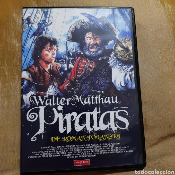 (S175) PIRATAS - DVD SEGUNDAMANO IMPOLUTA (Cine - Películas - DVD)
