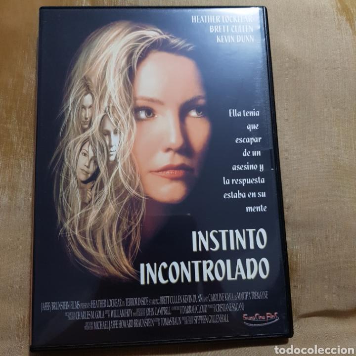 (S175) INSTINTO INCONTROLADO - DVD SEGUNDAMANO IMPOLUTA (Cine - Películas - DVD)