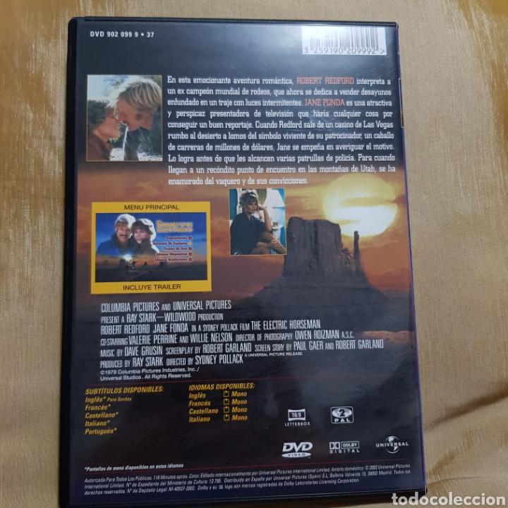 Cine: (S175) el jinete eléctrico - DVD SEGUNDAMANO IMPOLUTA - Foto 2 - 171148093