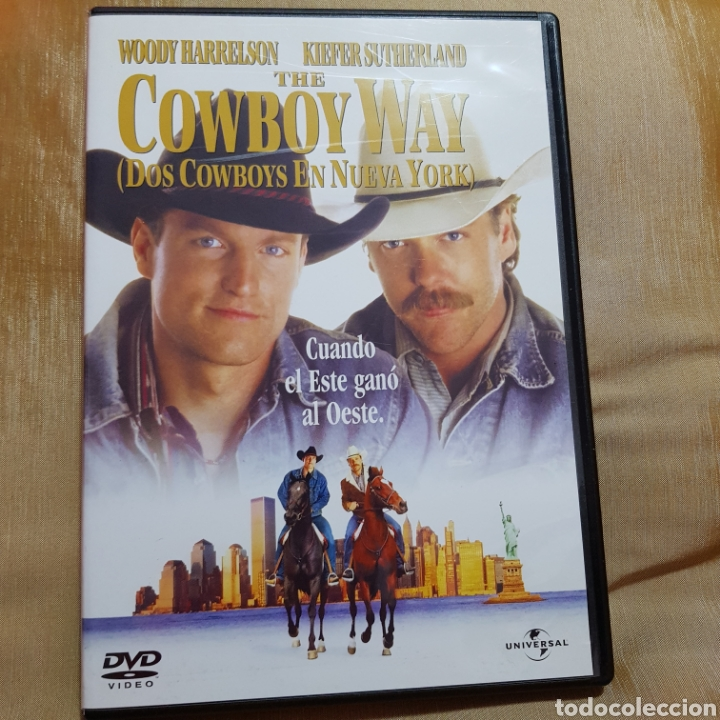 (S175) THE COWBOY WAY - DVD SEGUNDAMANO IMPOLUTA (Cine - Películas - DVD)