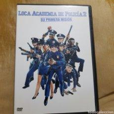 Cine: (S175) LOCA ACADEMIA DE POLICÍA 2 - DVD SEGUNDAMANO IMPOLUTA. Lote 171148128