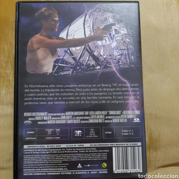 Cine: (S175) turbulence - DVD SEGUNDAMANO IMPOLUTA - Foto 2 - 171148178