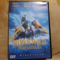 Cine: (S175) THE RIVER WILD RÍO SALVAJE - DVD SEGUNDAMANO IMPOLUTA. Lote 171148212