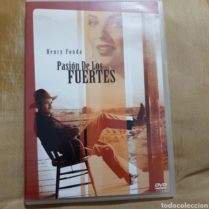 (S175) PASION DE LOS FUERTES - DVD SEGUNDAMANO IMPOLUTA (Cine - Películas - DVD)