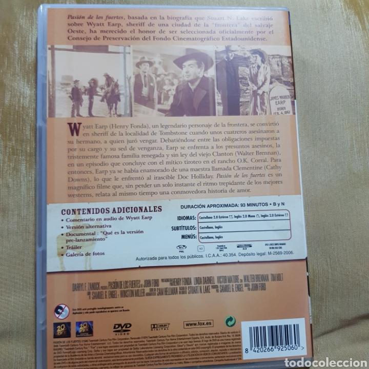 Cine: (S175) pasion de los fuertes - DVD SEGUNDAMANO IMPOLUTA - Foto 2 - 171148223